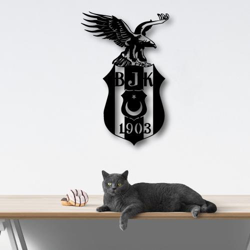 Beşiktaş Özel Tasarım Metal Tablo