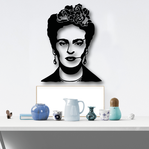 Frida Kahlo Metal Tablo