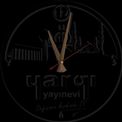 Ankara Temalı Firmaya Özel Metal Duvar Saati
