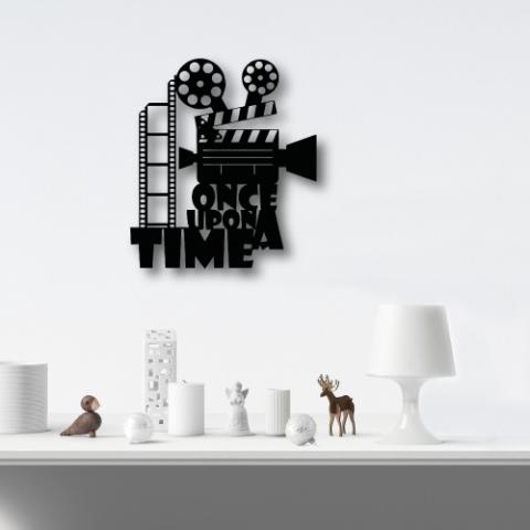 Film Şeridi Özel Tasarım Metal Tablo