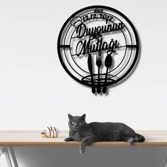 Kişiye Özel Mutfak Tablo Metal Tasarım