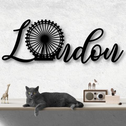 LONDON Özel Tasarım Metal Tablo